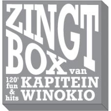4 Boeken + CD's : De zingt box van Kapitein Winokio