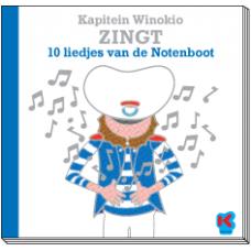 Boek+ cd : Kapitein Winokio zingt 10 liedjes van de notenboot